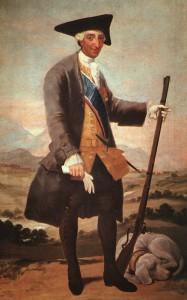 "Carlos III ""cazador"", de Francisco de Goya [Public domain], via Wikimedia Commons."